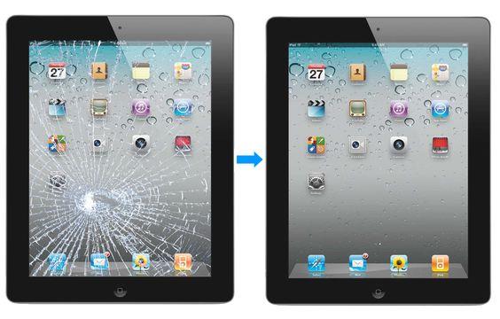 iPad ekraani vahetus